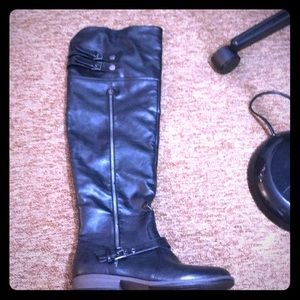 Bamboo over the knee boots size 10